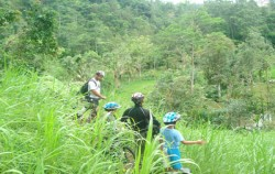 Jungle Cycling image, East Bali Cycling, Bali Cycling