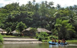 Finish Point,Bali Rafting,Mega Rafting Adventure
