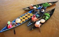 Floating Market Banjarese image, Borneo Overland Trip I 8 Days 7 Nights, Borneo Island Tour