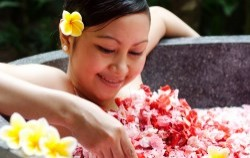 Flower Bath,Bali Spa Treatment,Bali Orchid Spa
