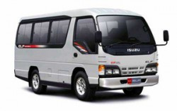 Isuzu Elf image, Car Charter with Driver in Bali, Bali Car Charter