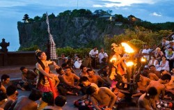 Kecak Dance at Uluwatu,Bali Overnight Pack,Bali Overnight Package 3 Days and 2 Nights
