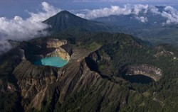 Kelimutu Lake,Komodo Adventure,Flores and Komodo Adventure Tour 8D/7N