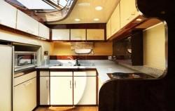 Komodo Yacht, Komodo Boats Charter, Kitchen View