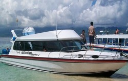 Kuda Hitam Boat at Gili ,Gili Islands Transfer,Kuda Hitam Express