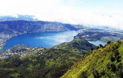 Lake Diatas and Lake Dibawah,Sumatra Adventure,Kerinci Seblat National Park Tour 5 Days 4 Nights