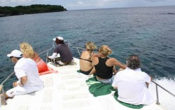 Lembongan Paradise Cruise, Lembongan Fast Boats, On Board