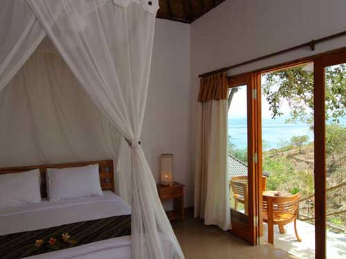 Bed Sea View - Lembongan Cliff Villas - Lembongan Island