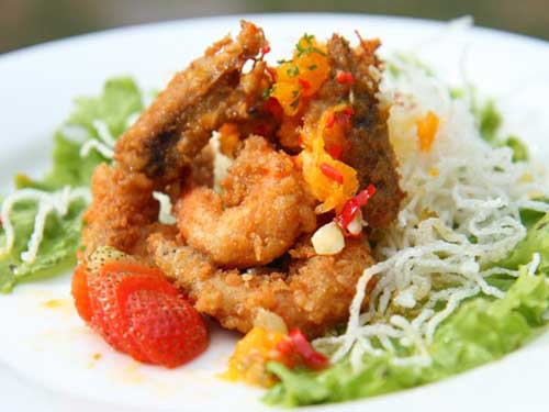 Food - Lembongan Cliff Villas - Lembongan Island