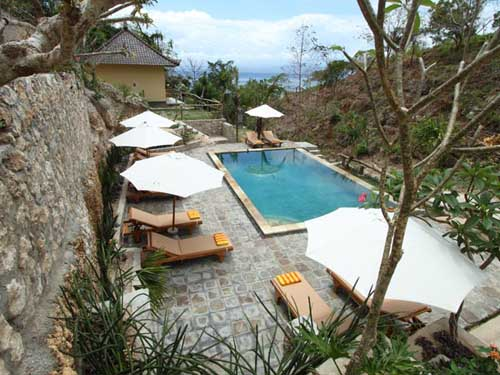 Pool View - Lembongan Cliff Villas - Lembongan Island