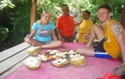Secret of Sambangan Trekking by Alam Adventure, Bali Trekking, lunch