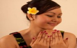 Manicure image, Bali Orchid Spa, Bali Spa Treatment