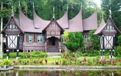 Minangkabau Traditional House,Sumatra Adventure,Grand Tour Experience 19 Days