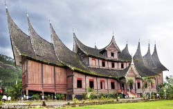 Minangkabau Traditional House,Sumatra Adventure,Great Sumatra Adventure 16 Days