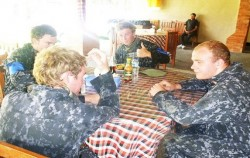 Pertiwi Paint Ball, Bali Paint Ball, Lunch time
