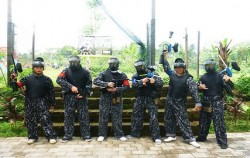 Star the game,Bali Paint Ball,Pertiwi Paint Ball