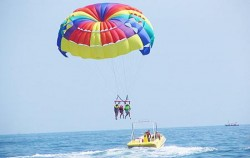 Parasailing,Benoa Marine Sport,Marine Sport Packages by North Coast
