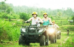 Pertiwi Quad Adventure, Bali Quad Adventure, ATV Ride through Rice Field