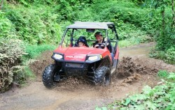 Bali Quad and Canyon Tubing, Bali River Tubing, Polaris RZR