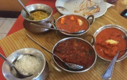 Pulao Rice & Veggy Curry,Bali restaurants,Bali Indian Food
