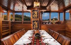 Ambashi Restaurant image, Phinisi Ambashi, Komodo Boats Charter