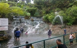 Beauty of Paris Van Java, Jakarta Tour, Sari Ater Hot Spring