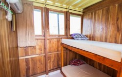 Room with AC,Komodo Boats Charter,Phinisi Sea Villa