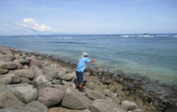 Special Shore Fishing by Ena, Bali Fishing, Sanur Site