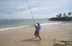 Shore Fishing image, Special Shore Fishing by Ena, Bali Fishing