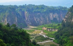 Sianok Canyon Bukittinggi,Sumatra Adventure,Kerinci Seblat National Park Tour 5 Days 4 Nights