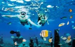 Bali Underwater Scooter, Lembongan Package, Snorkeling