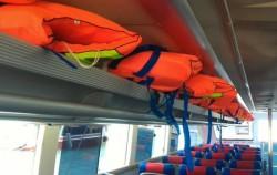 Life Jackets,Lembongan Fast boats,Sri Rejeki Express