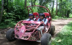 Bali Quad and Canyon Tubing, Buggy Riding