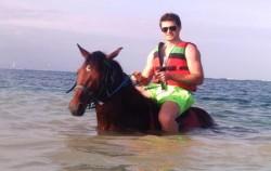 Swimming with Horse,Serangan Watersports,Marine Activities in Serangan
