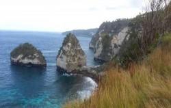 View From Nusa Penida,Nusa Penida Fast boats,Mola  Mola Express
