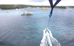 Parasailing View,Lembongan Transfer,Hai Tide Huts Overnight Package