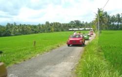 VW Bali Tour, On The Way