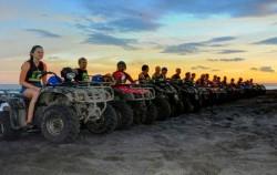 Wake ATV Ride, Bali ATV Ride, ATV Ride at Karamas Beach