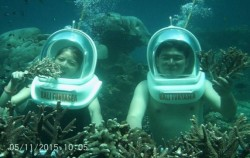 Walk Under Water image, Bali Funtasea, Nusa Penida Packages